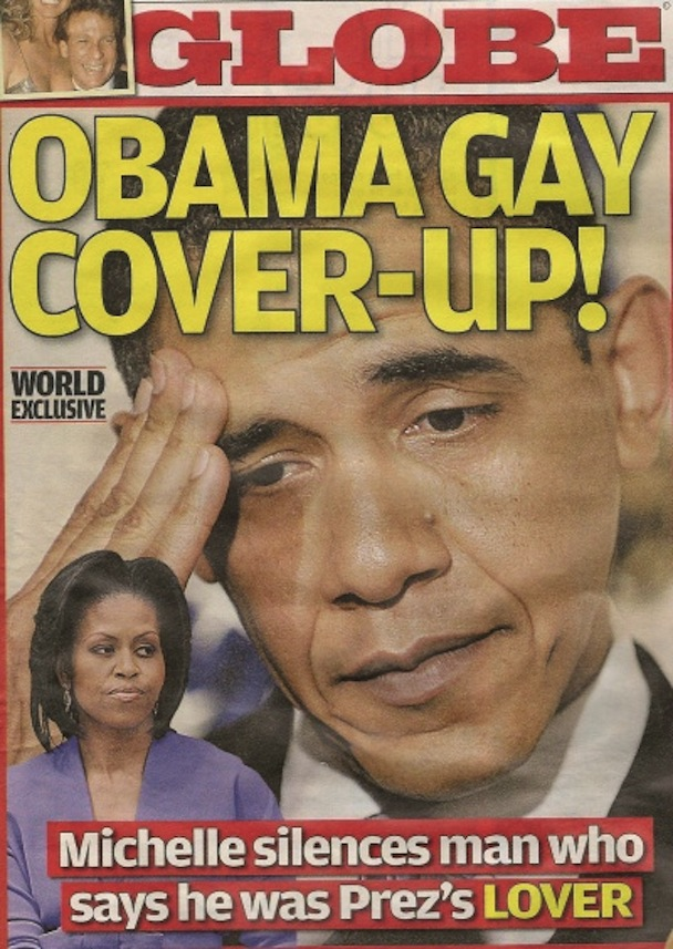 CLAIM: OBAMA HID 'GAY LIFE' TO BECOME PRESIDENT ( This article wa
